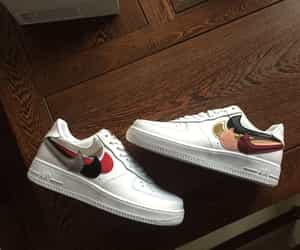 Nike Air Force 1 Low Multi Swoosh Champion Sneakers