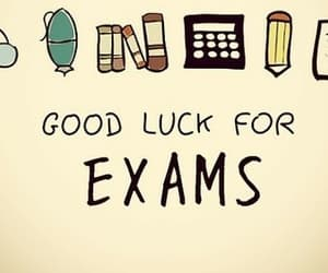 exam, school, and good luck image