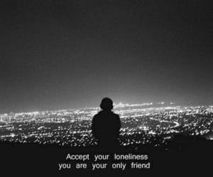 loneliness, alone, and sad image