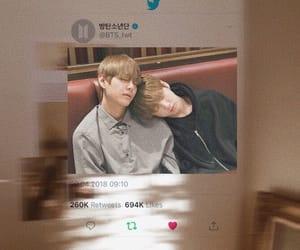 kpop, kim taehyung, and twitter image