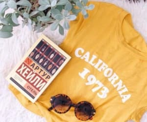 california, yellow, and fashion image