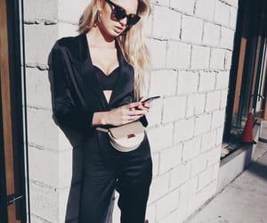 black, fashion, and glam image