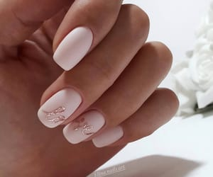 nails, style, and love image