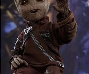 Marvel, baby groot, and Avengers image