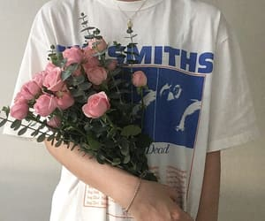 flowers, pretty, and the smiths image