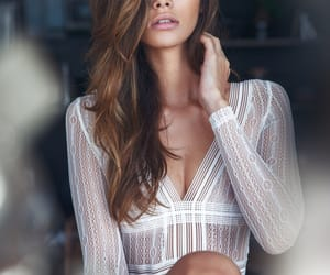 lingerie, cindy mello, and model image