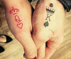 king, Queen, and tattoo image