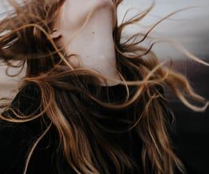 hair, woman, and girl image
