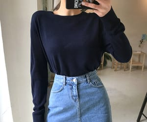 asian fashion, casual, and minimalism image
