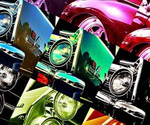 automobile, chrome, and colors image
