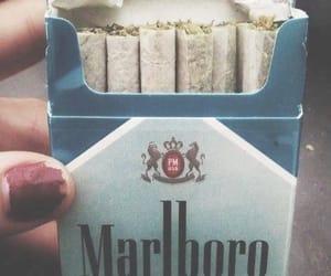 smoke, weed, and marlboro image