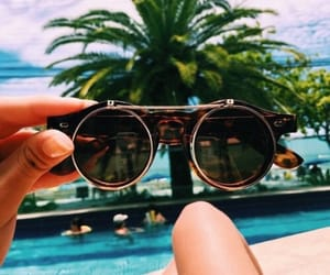 glasses, summervibes, and summer image