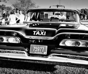 automobile, black and white, and retro image