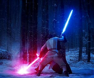 gif, star wars, and the force awakens image