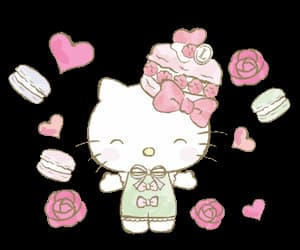 candy, gif, and hello kitty image