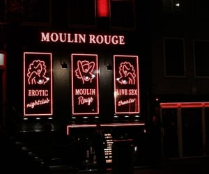 aesthetic, red, and moulin rouge image