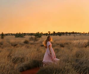 country, dress, and pink image