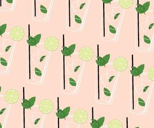background, iphone, and lemon image