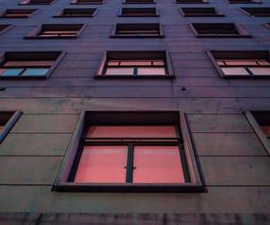 pink, grunge, and window image