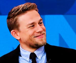 actor, Charlie Hunnam, and funny face image