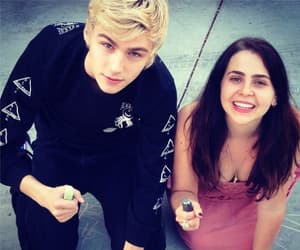 mae whitman and miles heizer image