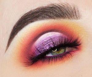 eye, maquillage, and makeup image