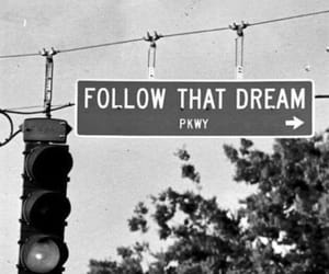 Dream, follow, and goals image