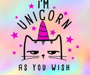 unicorn, wallpaper, and cat image