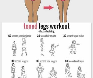 fitness, workout, and legs image