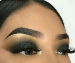 beauty, chic, and eyebrows image