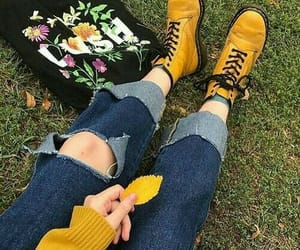 yellow, aesthetic, and alternative image