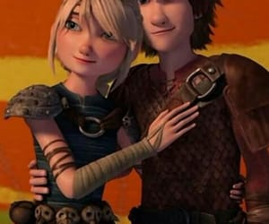 astrid hofferson, rtte, and hiccup haddock image