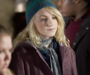 luna lovegood, harry potter, and evanna lynch image