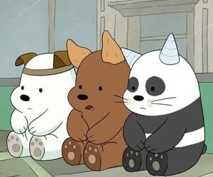 we bare bears, cartoon, and bear image