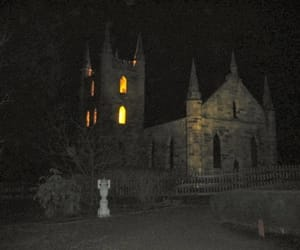 castle, creepy, and dark image