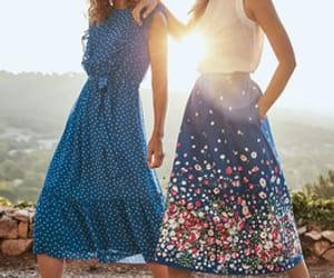 boho, gypsy, and skirt image