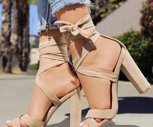 fashion, heels, and outfits image