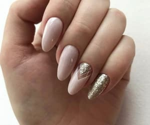 nails, fashion, and glitter image