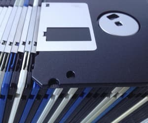 blue, floppy, and disk image