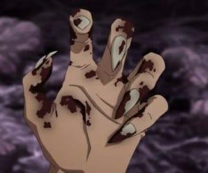 anime, blood, and grunge image