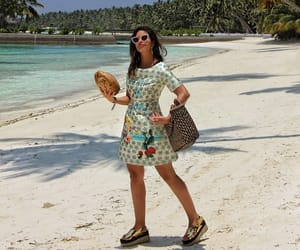 beach, coco, and coconuts image