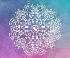 wallpaper, mandala, and colorful image