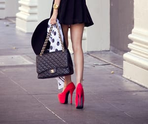fashion, high heel, and style image