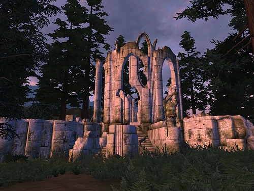 architecture, game, and Oblivion image