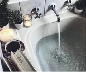 bath, chill, and relax image