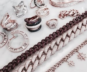 accessories, silver, and bracelet image