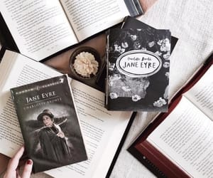 books, jane eyre, and aesthetic image
