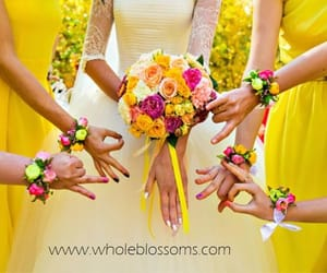 fresh cut flowers and flowers for wedding image