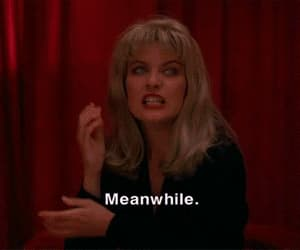 gif, Laura Palmer, and Twin Peaks image