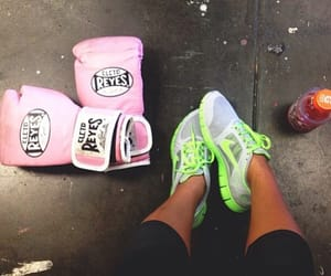 fitness, nike, and boxing image